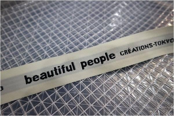 販売終了アイテム【Beautiful People 】ビニールロゴテープトートバッグ入荷!【古着買取トレファクスタイル亀戸店】
