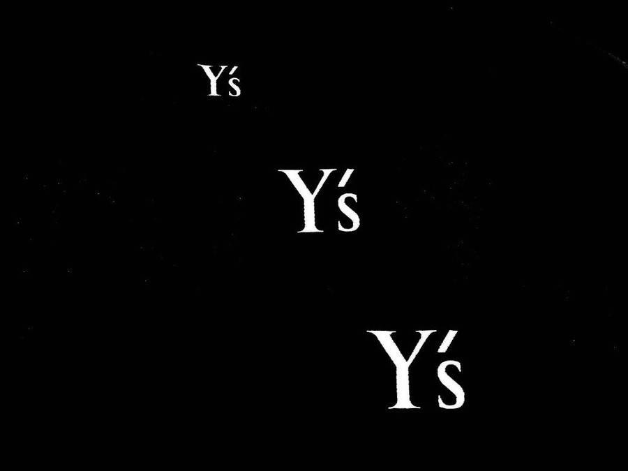 「Yohji YamamotoのY`s 」