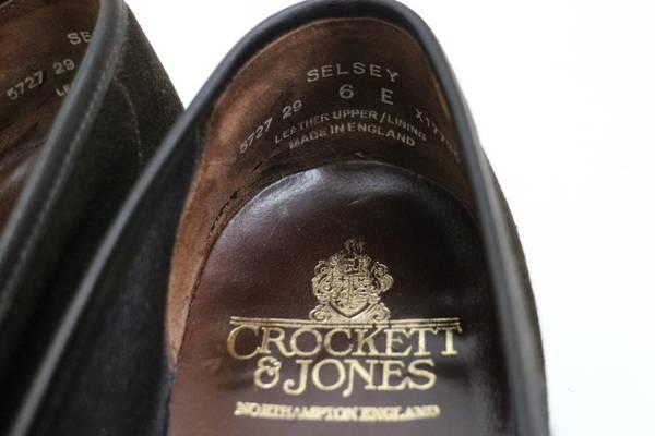 「Crockett&Jonesのクロケット&ジョーンズ 」