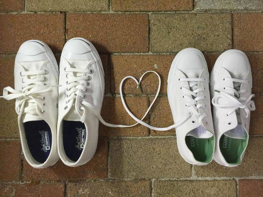「CONVERSEのJACK PURCELL 」