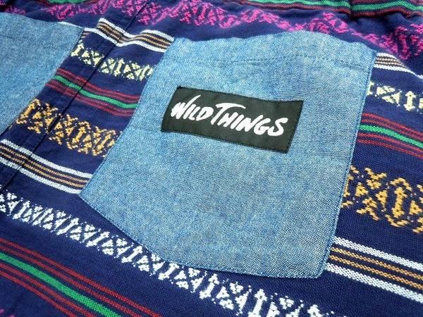 夏本番!WILD THINGS(ワイルドシングス)の野外フェス、アウトドアにピッタリなスカートです!