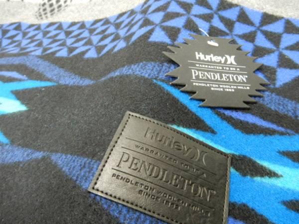 PENDLETON(ペンドルトン) × Hurley(ハーレー) ブランケット