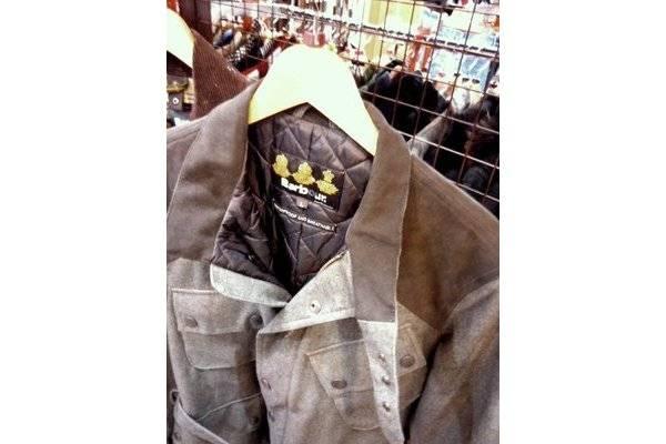「バブアーのインターナショナルジャケット 」