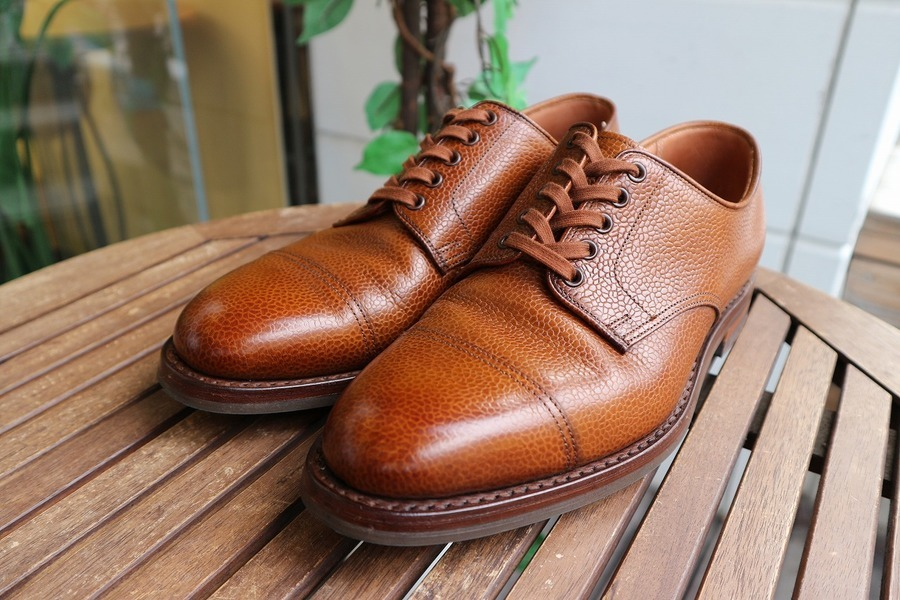 「アメカジブランドのPOLO RALPH LAURE×Crockett&Jones 」