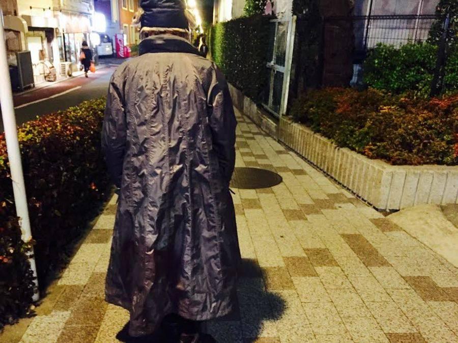 イッセイミヤケのコート