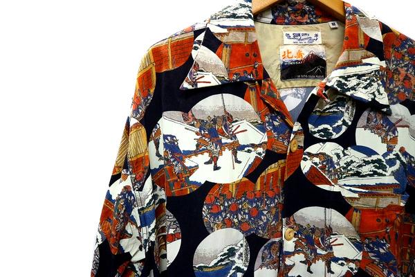 アロハシャツの葛飾北斎