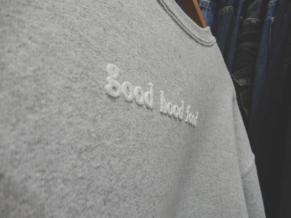 good hood food limited crew neck sweatのメンズ