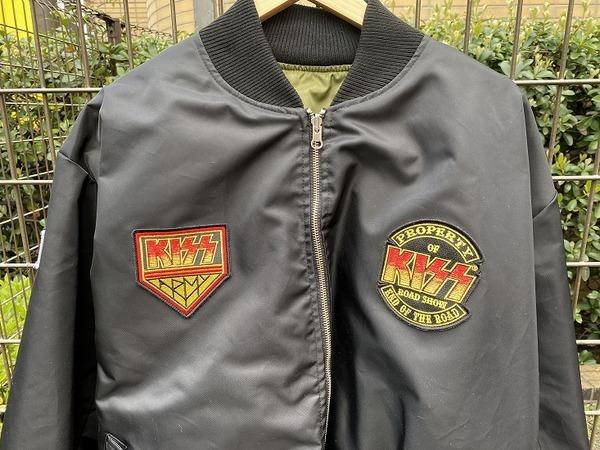 キッスのMA-1ジャケット