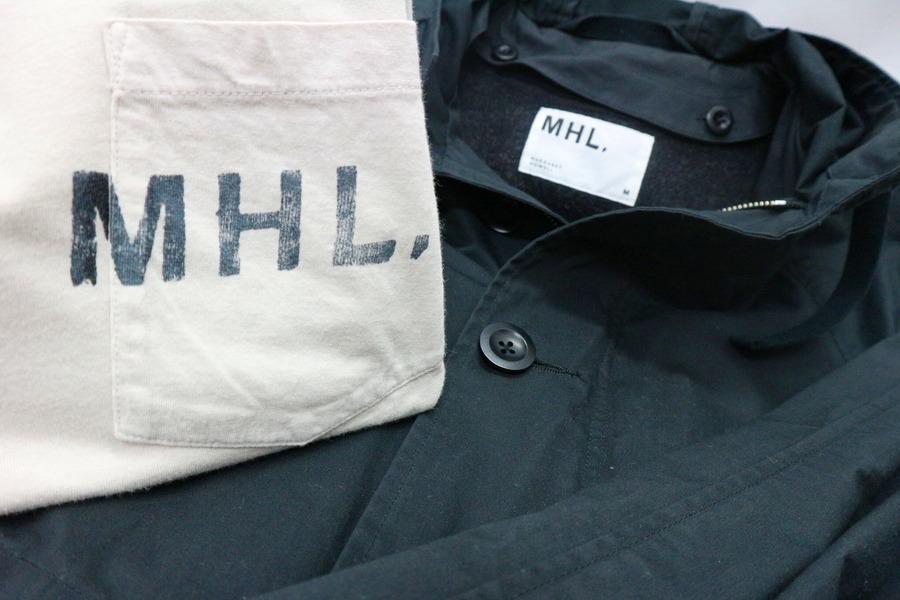 【MHL/エムエイチエル】コート等入荷いたしました!