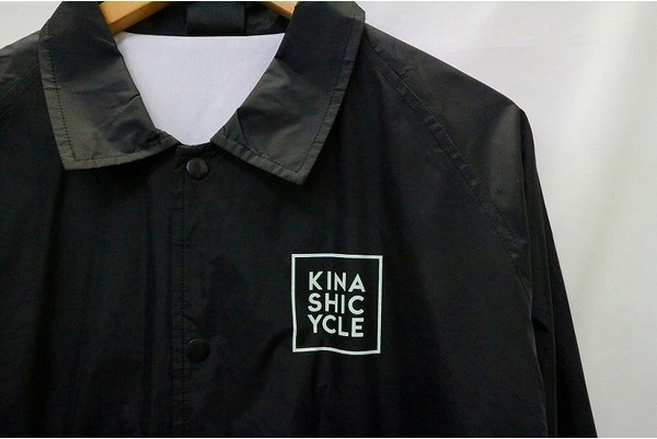 お洒落な自転車屋さん【木梨サイクル】のコーチジャケットをご紹介!