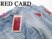 美シルエットのヴィンテージスタイルredcard(レッドカード) クラウチースキニーデニム