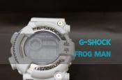 G-SHOCKの人気モデルFROG MAN men in white gray入荷!
