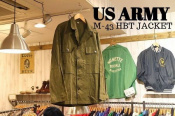 1940年→2018年へ。 US ARMYのM-43 HBT JACKETを買取しました!