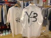 【15周年限定アジア限定アイテム】Y-3からYOHJI SHRT ART1 SHORTのご紹介!!