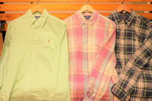 ポロ・ラルフローレンのシャツ