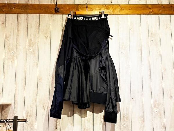ナイキ×サカイの再構築スカート