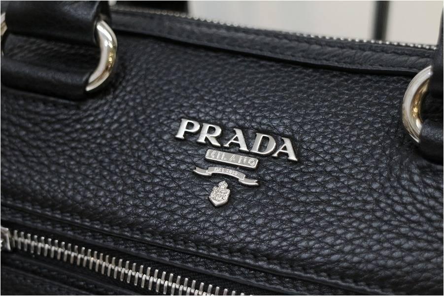 柔らかなレザーを使用したPRADAの2WAYバッグをお買取しました。【トレファクスタイル千葉店】