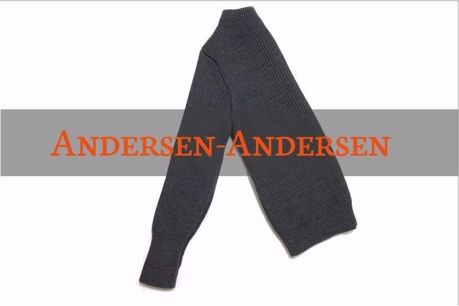 前からも後ろからも着用OK!?Andersen-Andersenのニットをお買取しました。【古着買取トレファクスタイル千葉店】