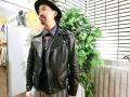 「イサムカタヤマバックラッシュのライダースジャケット 」