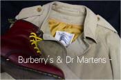 古着コーデに欠かせないブランドBurburry's & Dr Martens多数入荷...