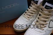 イタリアハンドメイドスニーカー『Philippe Model Paris(フィリップモデル)』よりレザースニーカー入荷...