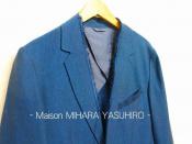 [入荷速報]Maison MIHARA YASUHIRO よりフレイドトリムブレザーを入荷!!