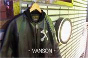 [入荷速報]VANSONよりクロスボーンレザージャケットを入荷!!
