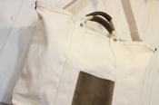 【campus bag small】Hender Scheme/エンダースキーマよりレザーを使用した2WAYキャンバストートが入荷!!!