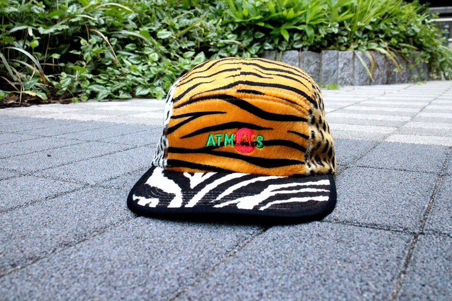最新入荷!!【ATMOS LAB CRAZY ANIMAL CAMP CAP】 -アトモス-