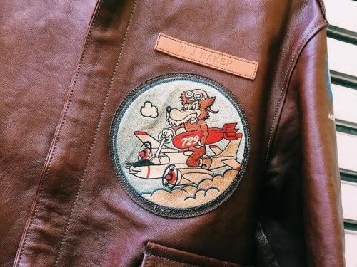 マリリンモンローのフライトジャケット