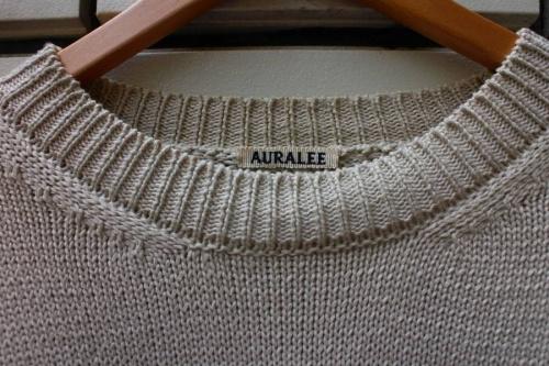 ニット・セーターのAURALEE