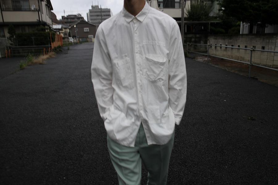 ディガウェル4のポケットシャツ