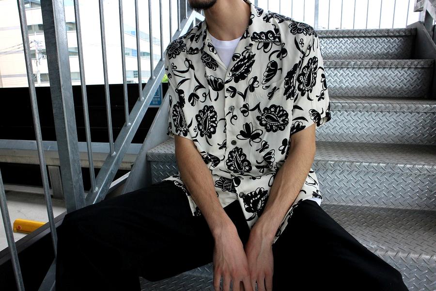 ジュンヤワタナベ コムデギャルソン マンのオープンカラーシャツ