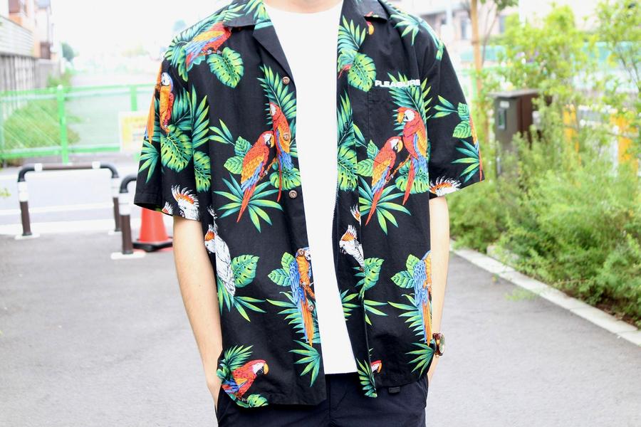 プレジャーズのアロハシャツ