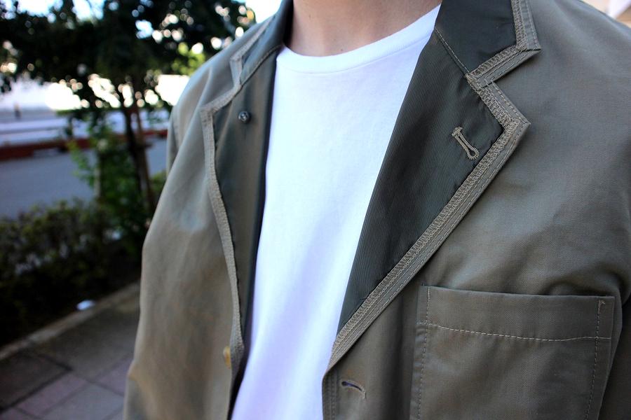 コムデギャルソンオムのテーラードジャケット