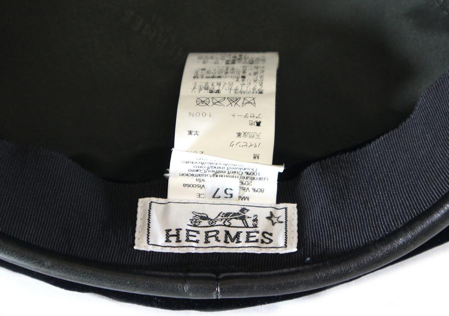 エルメスのベレー帽