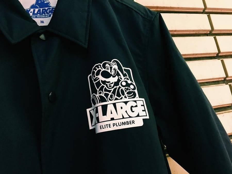 X-LARGE×スーパーマリオブラザーズってなんだ?古着買取トレファクスタイル調布店