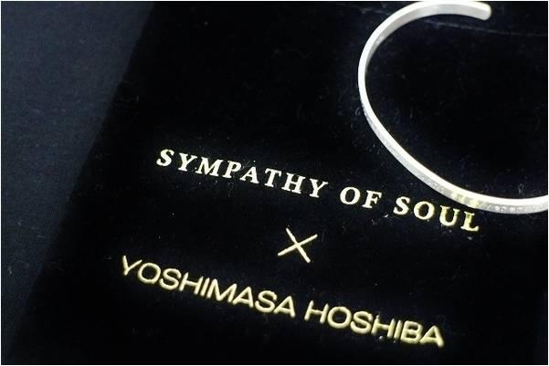 [入荷速報]YOSHIMASA HOSHIBA×SYMPATHY OF SOULよりバングル入荷!!