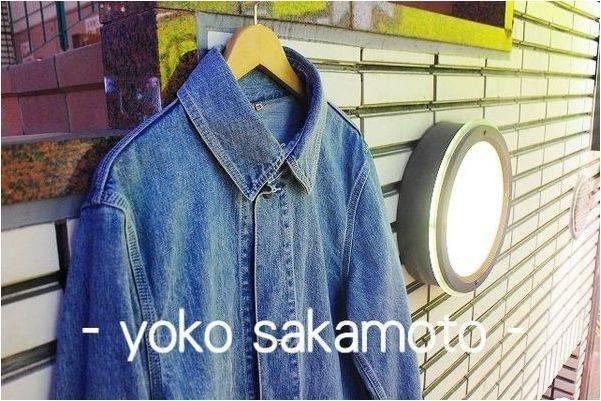 [入荷速報]yoko sakamotoよりメンズアイテム続々入荷!!