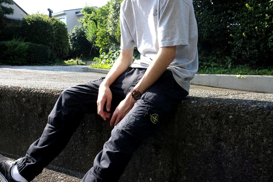 本日の買取速報【STONE ISLAND/ストーンアイランド/スウェットカーゴパンツ】