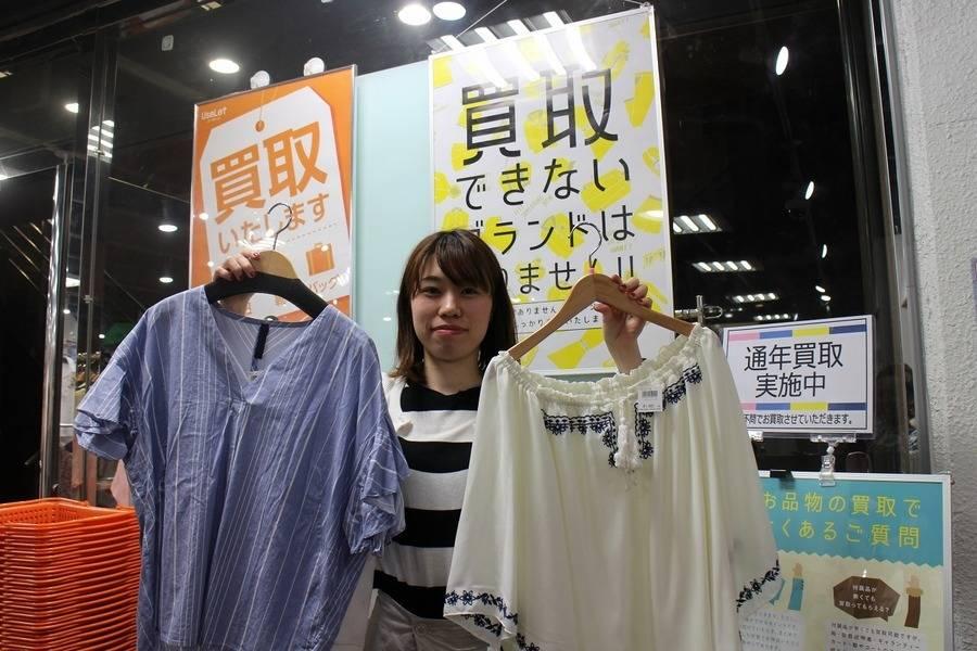 半袖、Tシャツ、カットソー、サンダル、帽子などの夏物買取大大強化中!!【ユーズレット本川越店】
