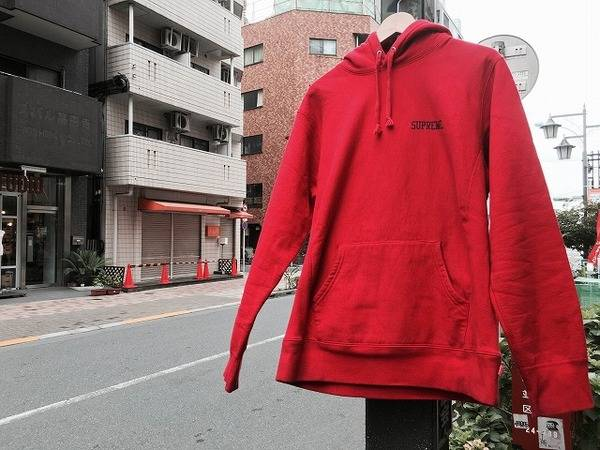 SUPREME Pullover Hoodies入荷!!【トレファクスタイル高円寺2号店 古着ブログ】
