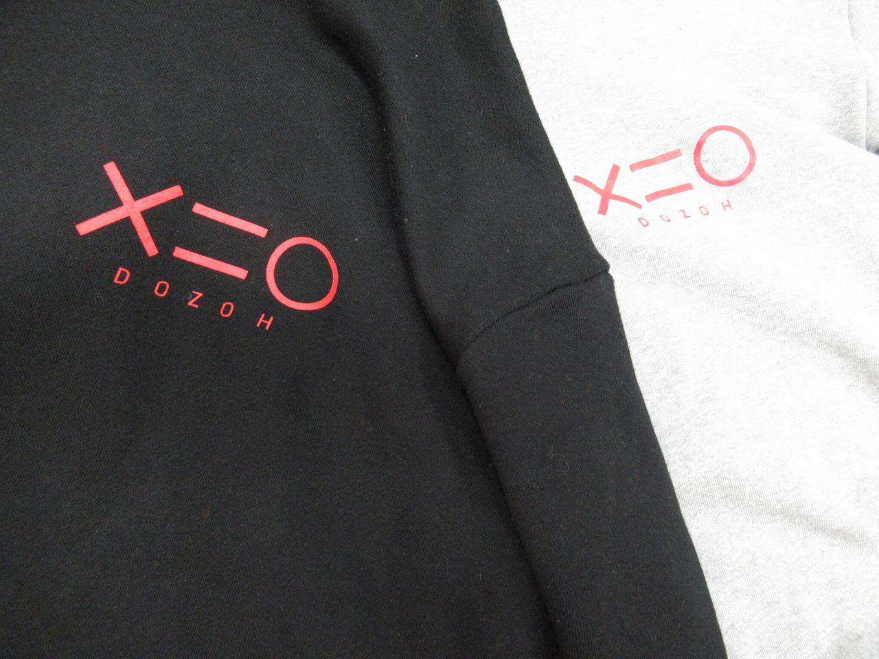 韓国デザイナーズブランドDOZOH/ドゾーのロゴパーカーが入荷!