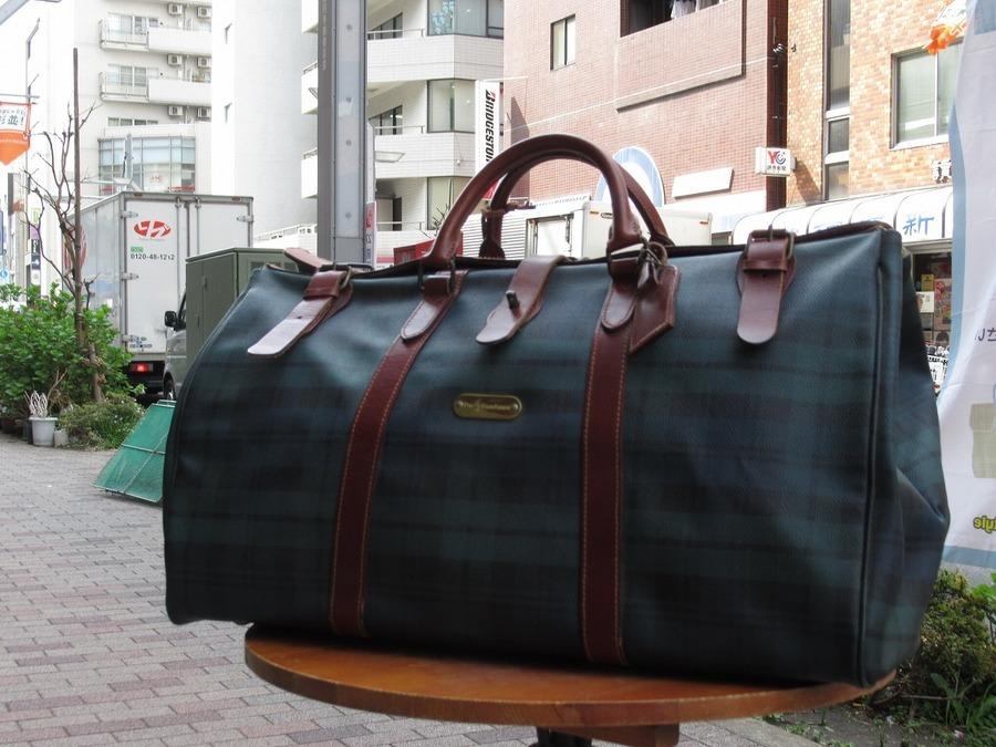 【高円寺店ヴィンテージブログ】旅行先でもお洒落に♪ヴィンテージトラベルバッグ入荷!