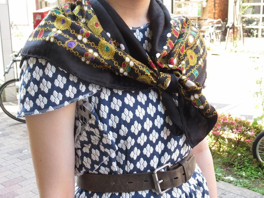 【高円寺店ヴィンテージブログ】CHANEL/シャネルよりスカーフが入荷いたしました!