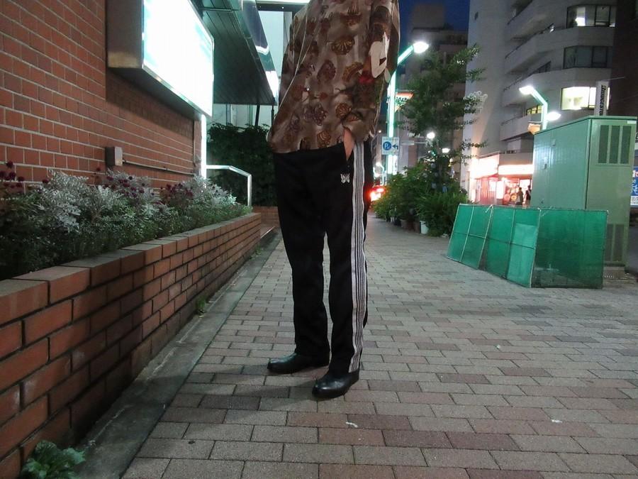 【高円寺ヴィンテージブログ】総柄シャツと合わせて上級者コーデ!?Needlesトラックパンツ入荷!
