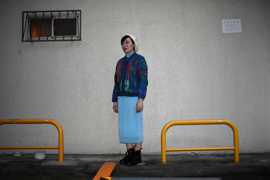 【高円寺店ヴィンテージブログ】COOGI/クージーの3D編みニットカーディガンが入荷しました!