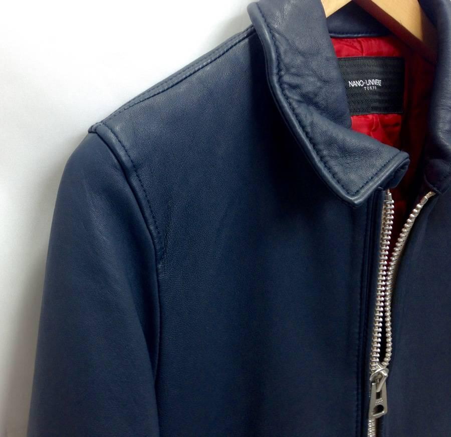 「ナノユニバースのレザージャケット 」