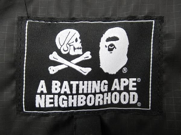 「NEIGHBORHOODのA BATHING APE 」