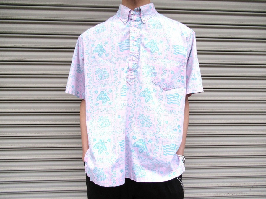 レインスプーナーのシャツ